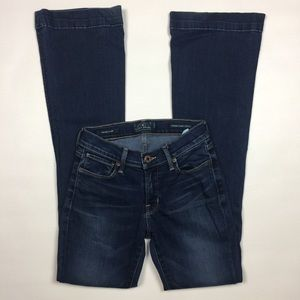 Lucky Brand Jeans Size 00/24 Brooke Flare Stretch